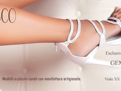 Scarpe sposa e cerimonia FRANCESCO couture a Catania!
